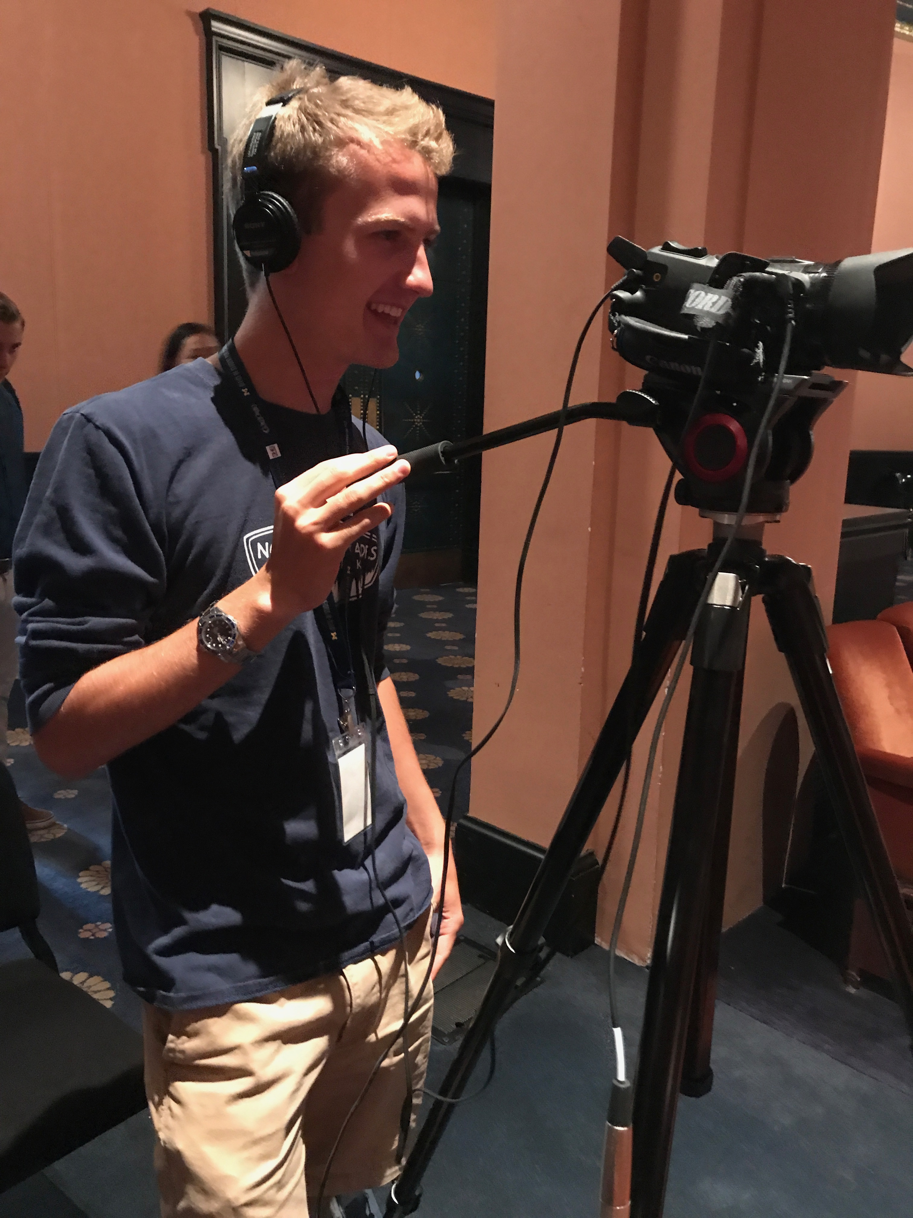 Abe Lofy, Daily videographer