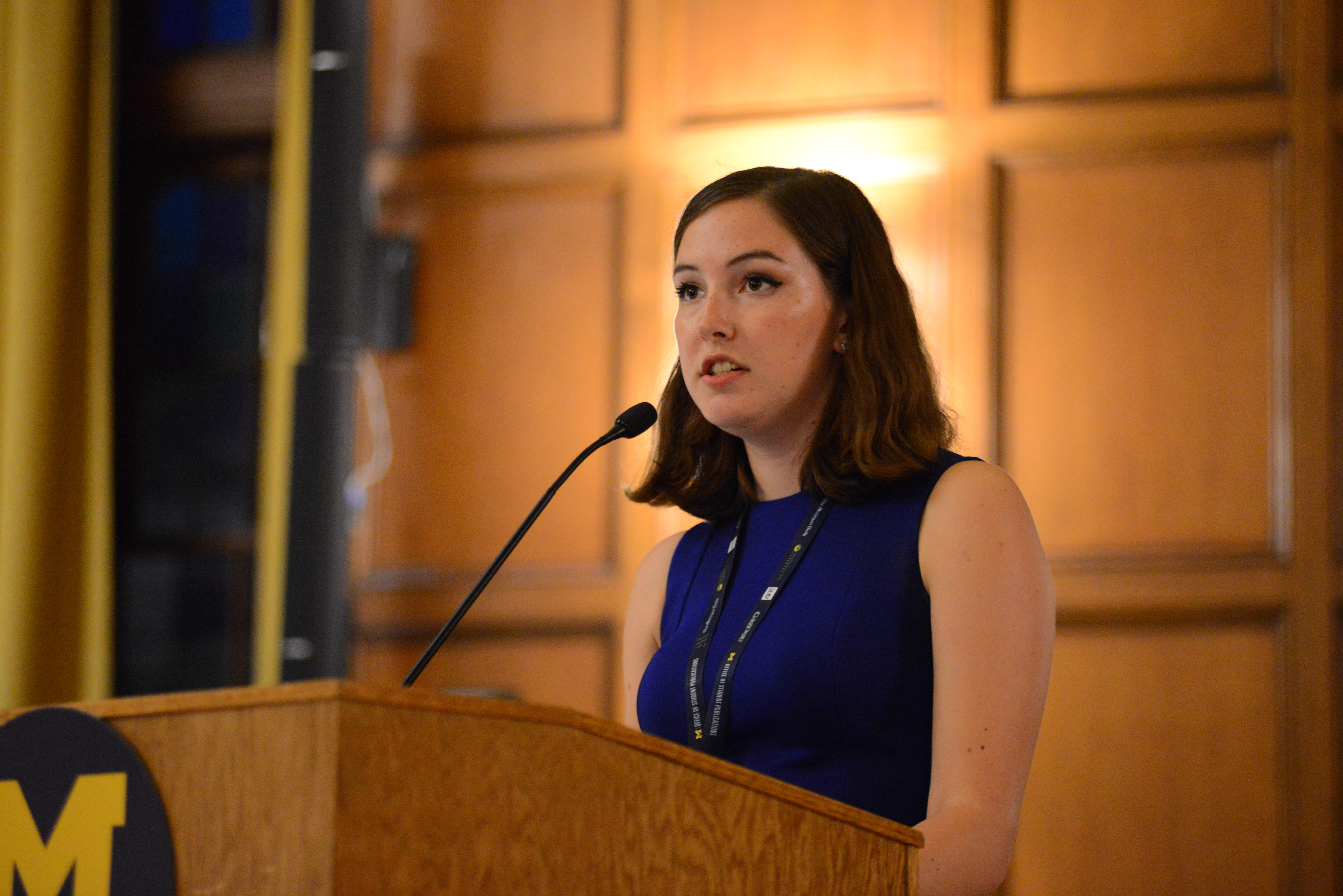 Emma Kinery, EIC 2017